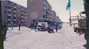 Suez UN set up as photo